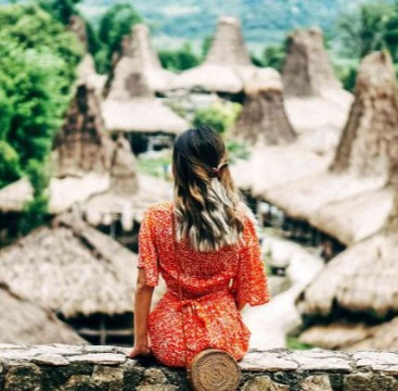 Photogenic Tourist Attraction in Sumba