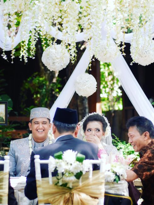 Epic Wedding Photo and Video Session, Garden Ceremony, Serpong, Tangerang