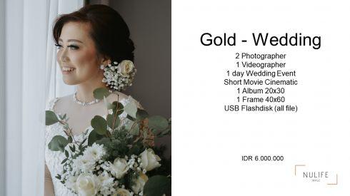 Gold Wedding Package  - Jakarta Selatan, Jakarta