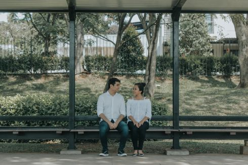 The Pre-Wedding Ideas Simple - Pondok Aren / Jurang Mangu, Banten